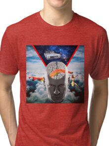 Mental Floss (Staring Bruce Willis) Tri-blend T-Shirt