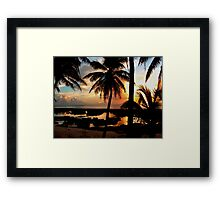 Run To Paradise Framed Print