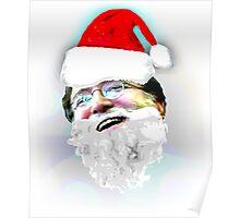Merry Christmas GabeN (Glow) Poster