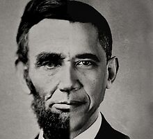 President Obama Meets President Lincoln by BritishYank