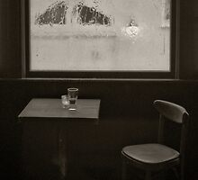 A Pint Of Beer On A Rainy Day by BritishYank