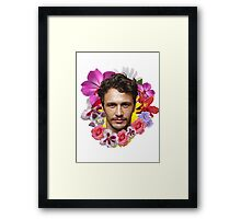 James Franco Framed Print