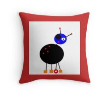 BUG-ME-NOT inkspot Throw Pillow
