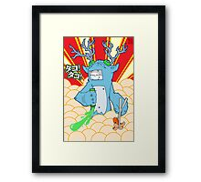 KID9 - Tako Thief Framed Print