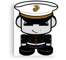 Marine Hero'bot 1.0 Canvas Print