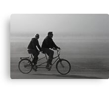 In Tandem Canvas Print