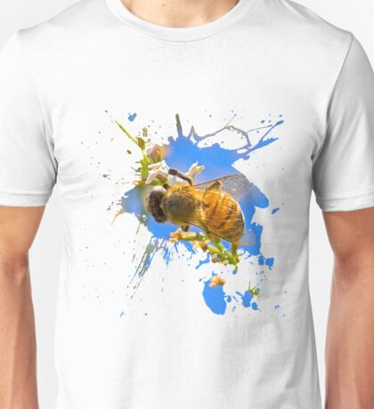 bee splat Unisex T-Shirt