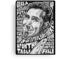 Serj Tankian - System of a Down Canvas Print