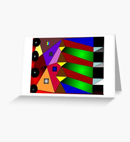 Artistic Puzzle Greeting Card