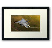USAF F15E - Vapor Framed Print
