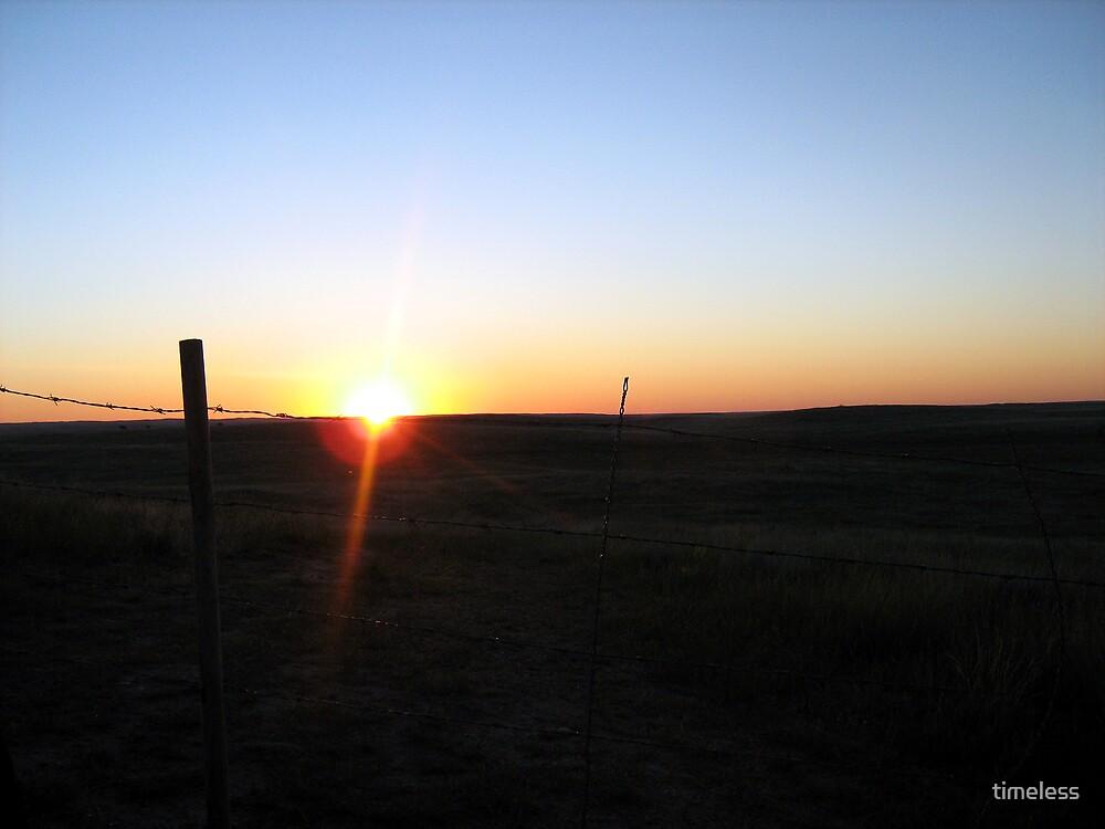 Prairie Sunrise by timeless