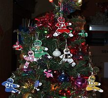 Power Rangers Christmas Tree by Joe Bolingbroke