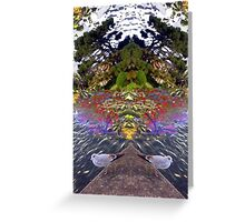 The Heart of Nature Greeting Card