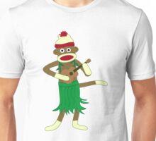 Sock Monkey Ukulele Unisex T-Shirt