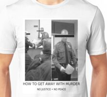 HOW TO GET AWAY WITH MURDER #NOJUSTICENOPEACE Unisex T-Shirt
