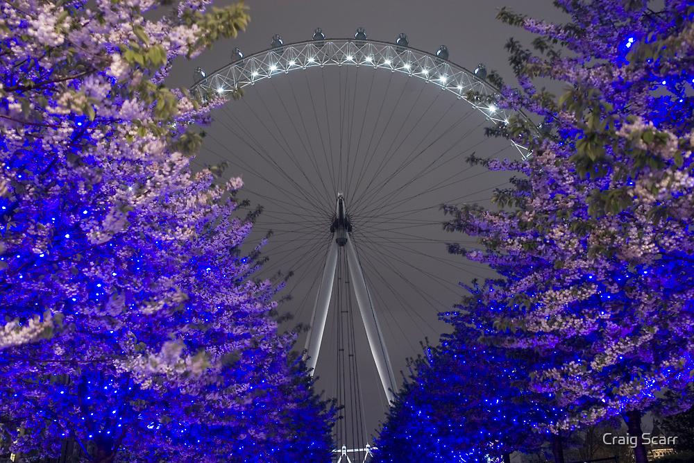 London Eye by Craig Scarr