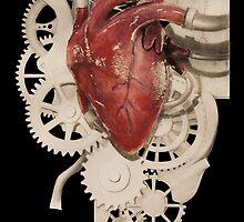 Heart and Clockwork by Sid3walk Art