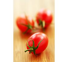 Small tomatoes Photographic Print