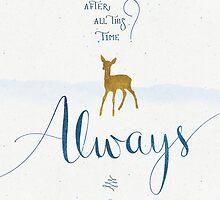"Harry Potter ""Always"" by earthlightened"
