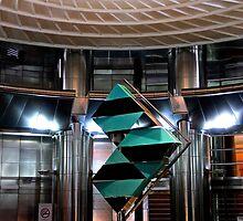 The Petronas Sculpture - Kuala Lumpur, Malaysia.  by Tiffany Lenoir