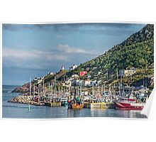 Fishing Harbour in Newfoundland, Canada Poster
