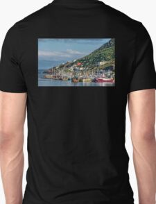 Fishing Harbour in Newfoundland, Canada T-Shirt