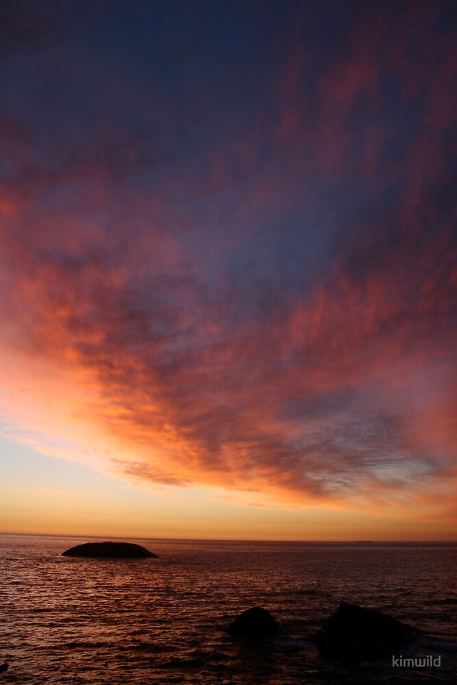 Fantasy Sunset by kimwild