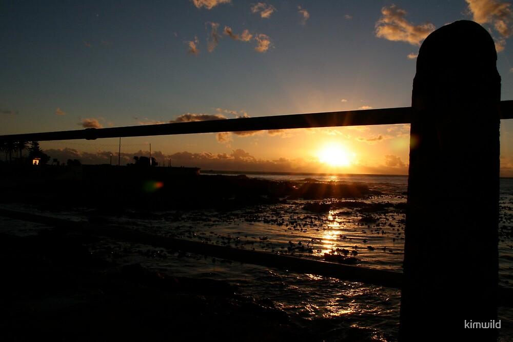 Sunset Railing by kimwild