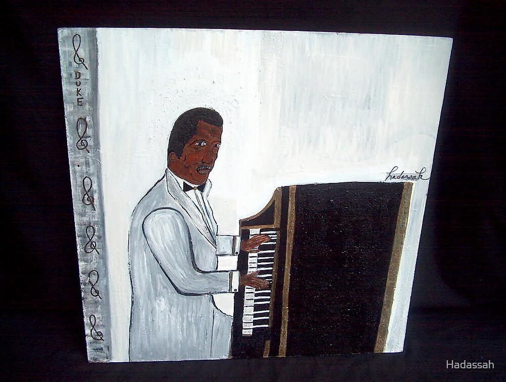 Duke Ellington by Hadassah