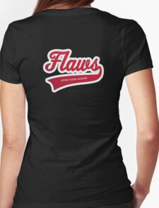 Flaws upon your sleeve Womens Fitted T-Shirt