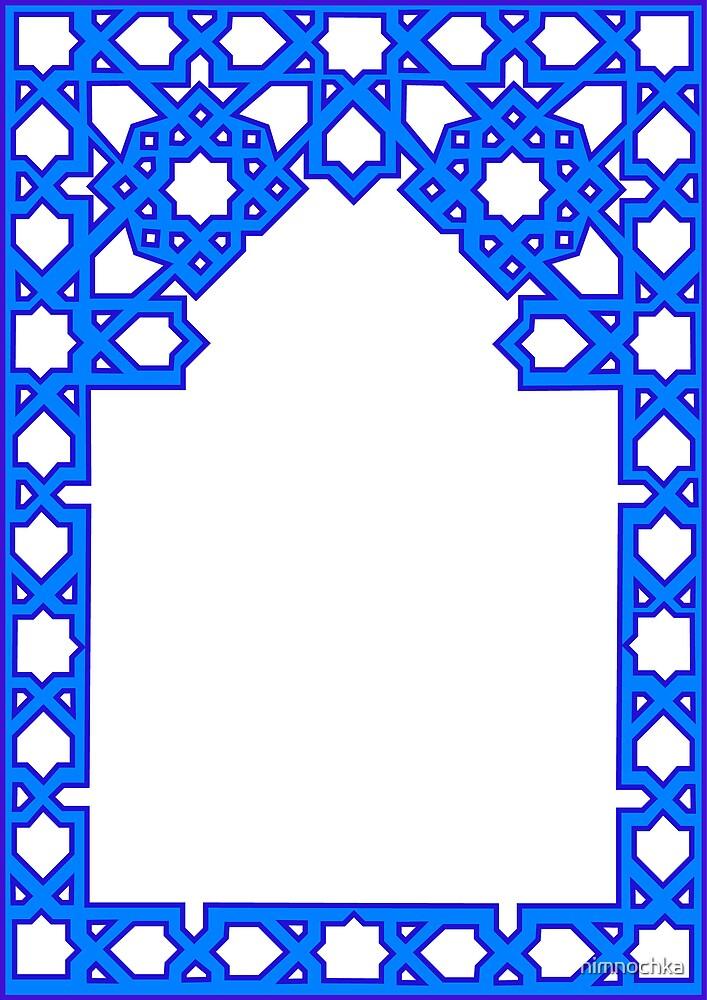 Blue Frame by nimnochka