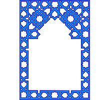 Blue Frame Photographic Print