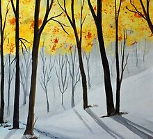 Early Snow 141126 by Jack G Brauer