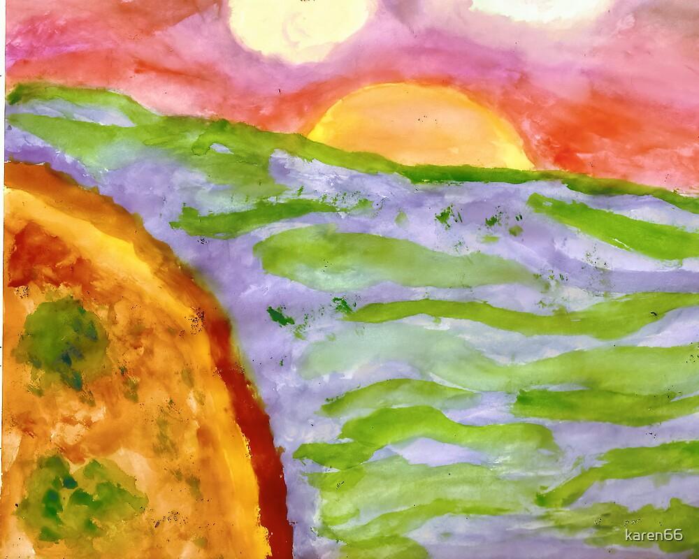 Watercolor Scenery by karen66