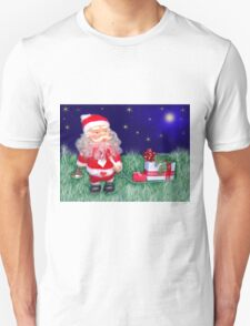 Santa Claus with gifts Unisex T-Shirt