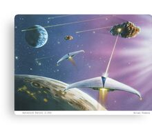 Asteroid Patrol 2050 Canvas Print