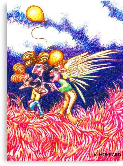 Carnival Abduction by Hoffard