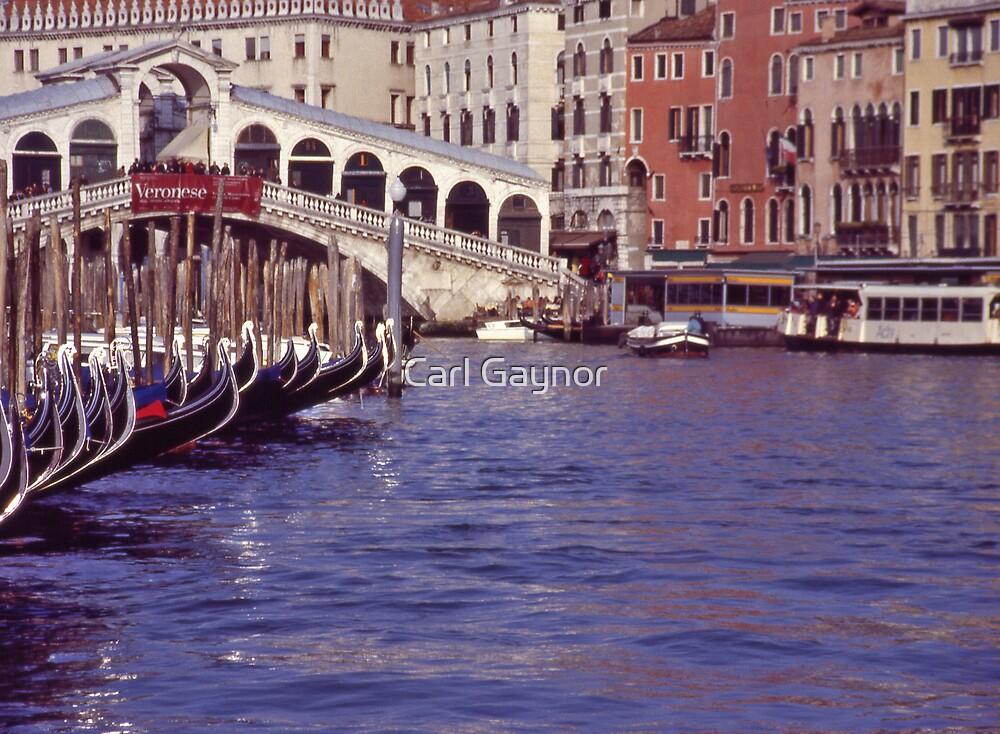 Venice - A Postcard  by Carl Gaynor