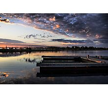 Docks at Port of Orillia Photographic Print