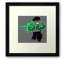 Green Death  Framed Print