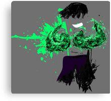 Green Death  Canvas Print