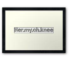 Hermione - Harry Potter Framed Print