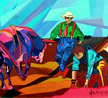 Rodeo Clown by jamiewinter