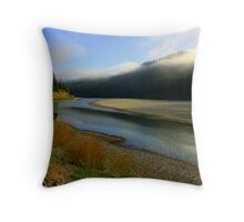 Eel River Throw Pillow