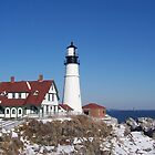 Portland Headlight by Kimberly Giorgio