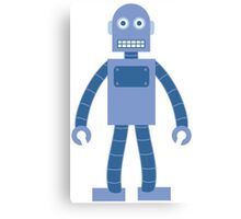 Basic Robot Canvas Print