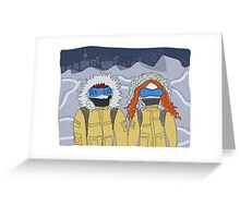 the day after tomorrow Greeting Card