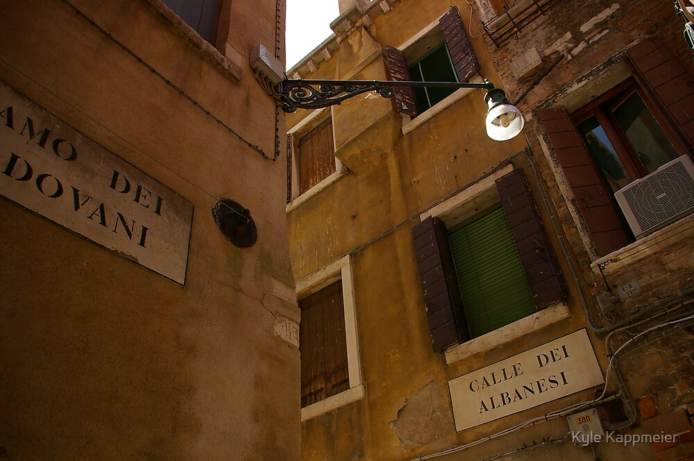 Calle Dei Albanesi by Kyle Kappmeier