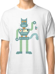 Robot Cat Classic T-Shirt