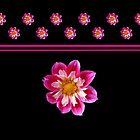 Dahlia - Pretty in Pink (I) by Evelyn Laeschke
